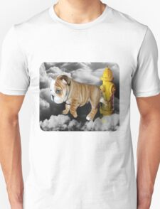 ☀ ツ UP IN THE CLOUDS WHAT DO I SEE A FIRE HYDRANT JUST WAITING FOR ME (SENDING EMAIL) TEE SHIRT LOL ☀ ツ T-Shirt
