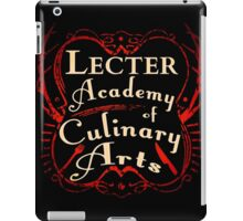 Lecter Academy of Culinary Arts. iPad Case/Skin