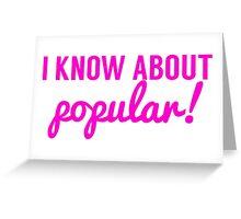Popular Greeting Card