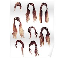 Zoella Hairstyles  Poster