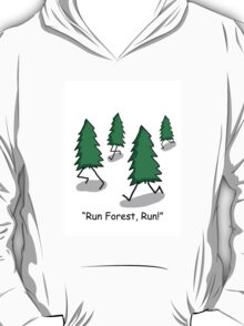 """""""Run Forest, Run!"""" - Forrest Gump Pun T-Shirt"""
