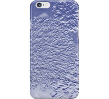 Globe Seedhead in Blue  iPhone Case/Skin