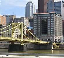Pittsburgh Skyline by Robert J Murphy