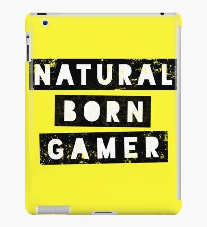 Natural Born Gamer iPad Case/Skin