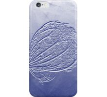 Seedhead In Blue iPhone Case/Skin