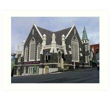Fortune Theatre Dunedin, New Zealand. Art Print