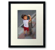 Wonder...Question...Life Framed Print