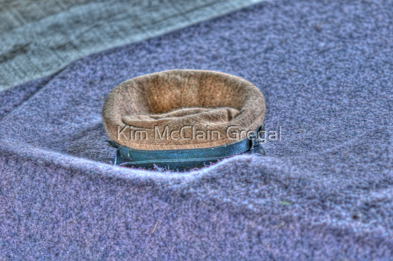 Confederate Hat by Kim McClain Gregal