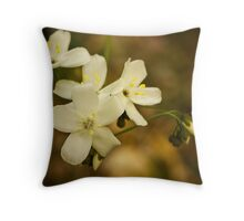 """Leafy Sundew"" Throw Pillow"