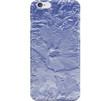 Hibiscus In Blue iPhone Case/Skin