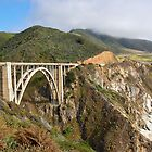 Bixby Bridge - Big Sur, CA by Nicole Clements