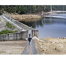 Cascade Dam Derby Tasmania Photographic Print