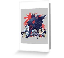 Samurai Wars: Empire Strikes Greeting Card