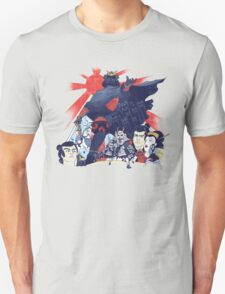 Samurai Wars: Empire Strikes Unisex T-Shirt
