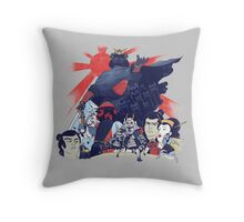Samurai Wars: Empire Strikes Throw Pillow