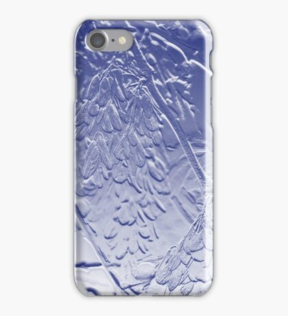 Helicopter Seed in Blue iPhone Case/Skin