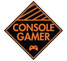 Console Gamer (Orange) Photographic Print