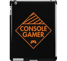 Console Gamer (Orange) iPad Case/Skin