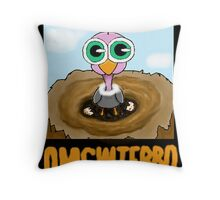 Miscreant: This World is HUGE! Throw Pillow