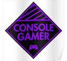 Console Gamer (Purple) Poster