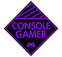 Console Gamer (Purple) Photographic Print