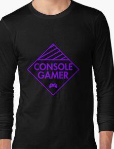 Console Gamer (Purple) Long Sleeve T-Shirt