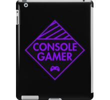 Console Gamer (Purple) iPad Case/Skin