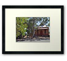 Kanmantoo Community Hall Framed Print