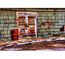 Abandoned Building - Newark, Texas Photographic Print