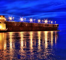Blue Hour Ore Dock by PhotoYoop
