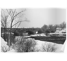 Wintery Bridges of the Ottawa Valley Poster