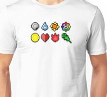Gym Badges Unisex T-Shirt
