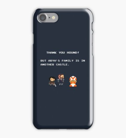 Thank You Hound! iPhone Case/Skin