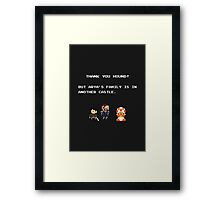Thank You Hound! Framed Print