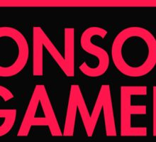 Console Gamer (Red-Pink) Sticker