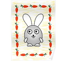 Little Cute Bunny Poster