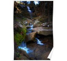 Burden Falls - Shawnee National Forest Poster