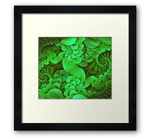 Greenery Season Framed Print