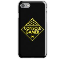 Console Gamer (Yellow) iPhone Case/Skin