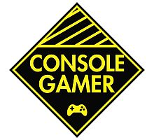 Console Gamer (Yellow) Photographic Print