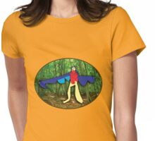 Fly dinosaur fly! Womens Fitted T-Shirt
