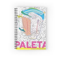 PaletaZine Issue#1 Cover Spiral Notebook