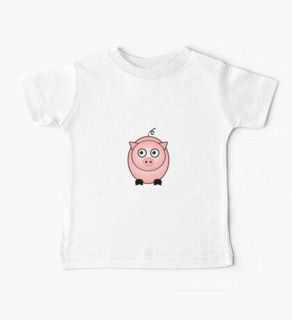 Little Cute Piggy Baby Tee