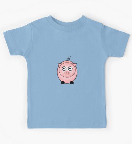 Little Cute Piggy Kids Tee