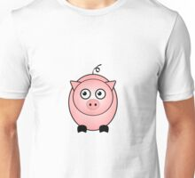 Little Cute Piggy Unisex T-Shirt