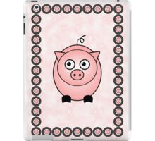 Little Cute Piggy iPad Case/Skin