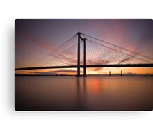 Cable Bridge - Kennewick, Washington Canvas Print