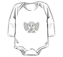 Little Cute Elephant One Piece - Long Sleeve
