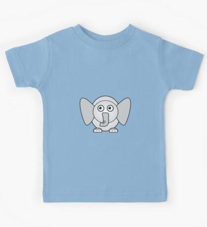 Little Cute Elephant Kids Tee