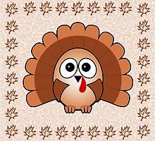 Little Cute Turkey by Anastasiya Malakhova